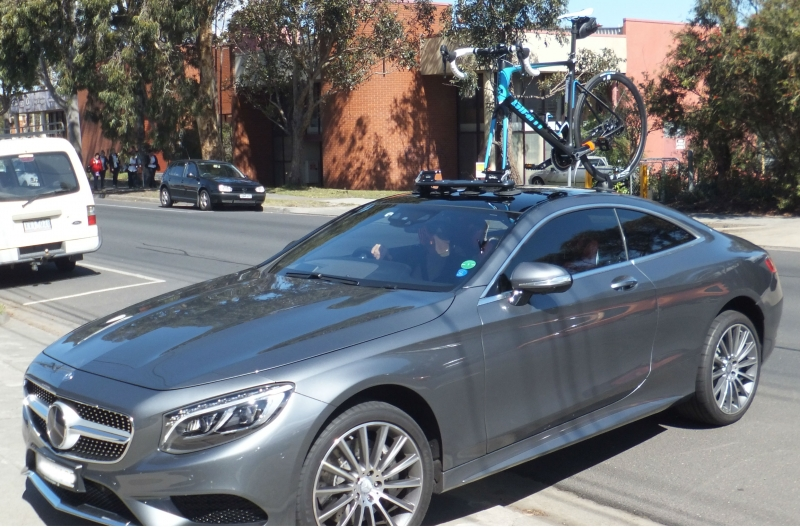 Mercedes S500 Bike Rack