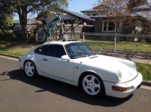 Porsche Carrera Bike Rack