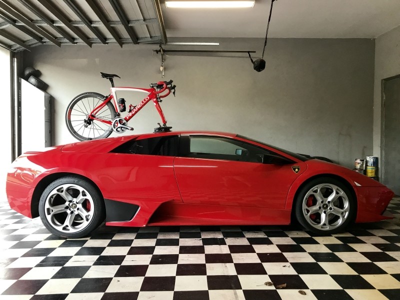 Lamborghini Murcielago Bike Rack