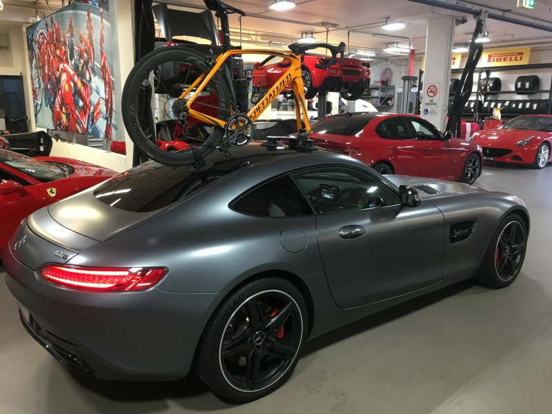 Mercedes AMG GT Bike Rack