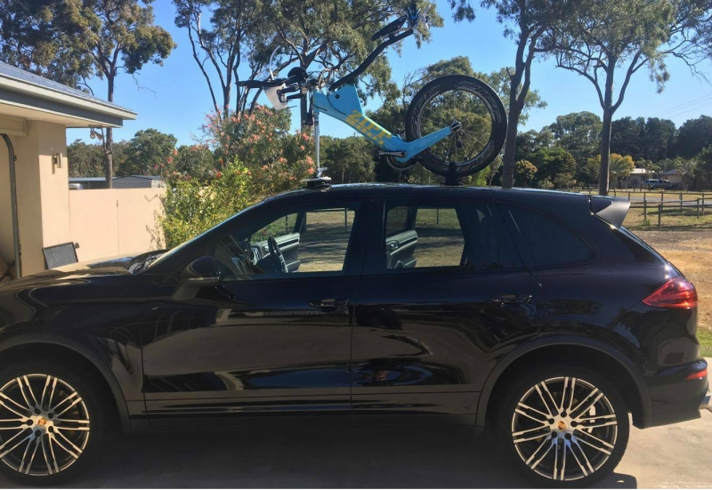 Porsche Cayenne Bike Rack
