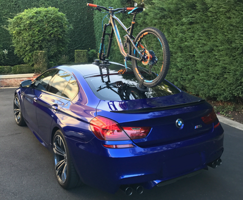 BMW M6 Bike Rack
