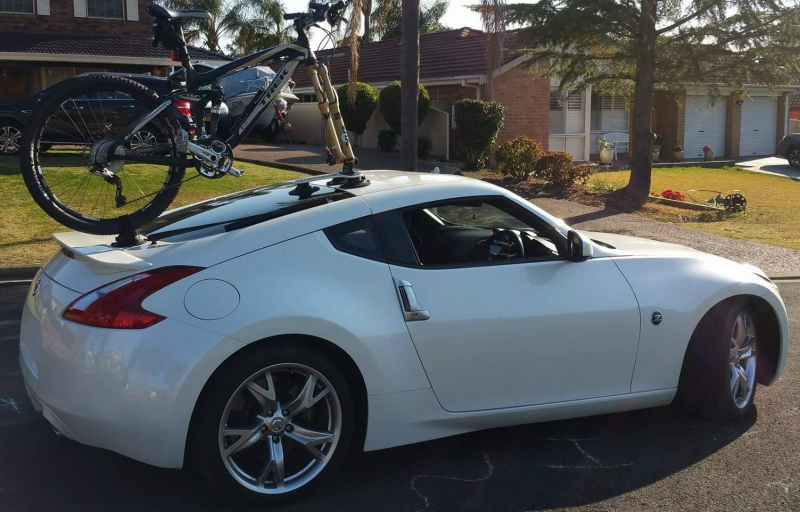Nissan 370Z Bike Rack
