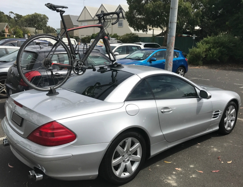 Mercedes SL 500 Bike Rack
