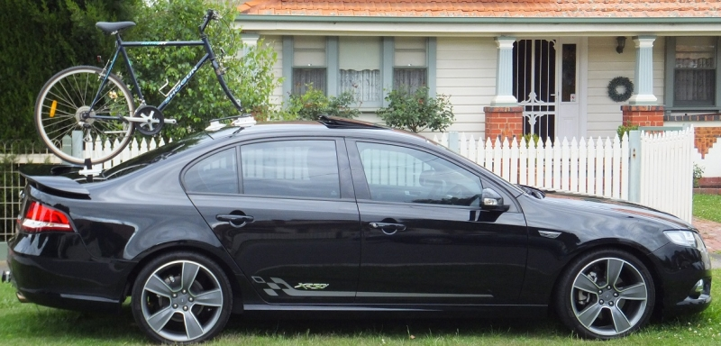 Ford Falcon XR50 Bike Rack