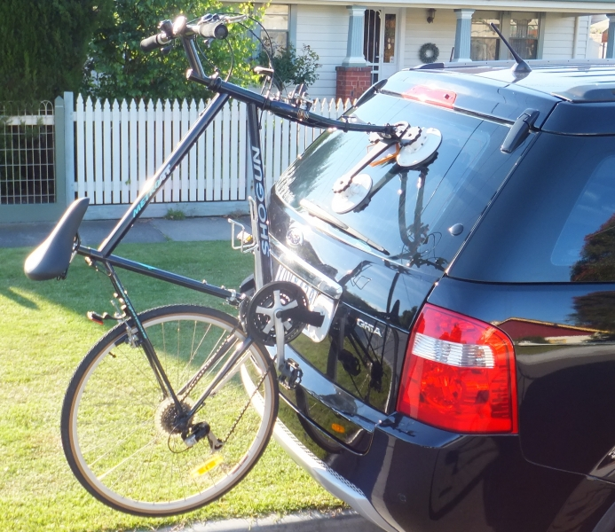 Ford Territory Bike rack