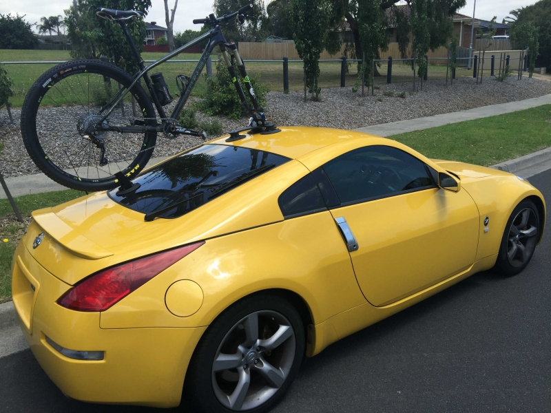 Nissan 350Z Bike Rack