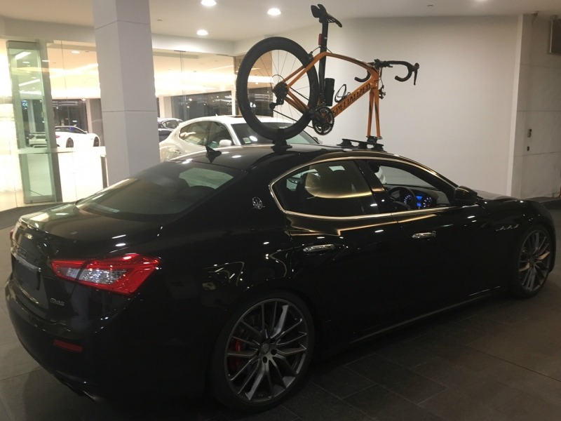 Maserati Ghibli Bike Rack