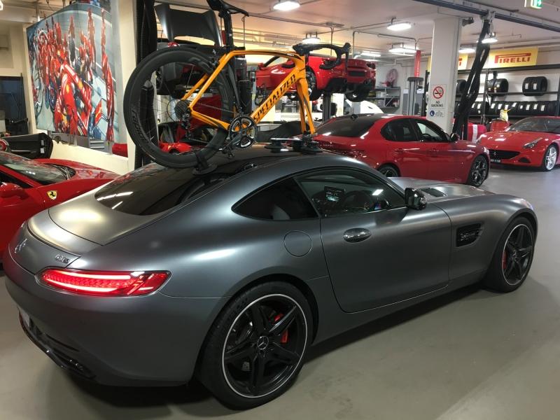 Mercedes AMG GT Bike Rack