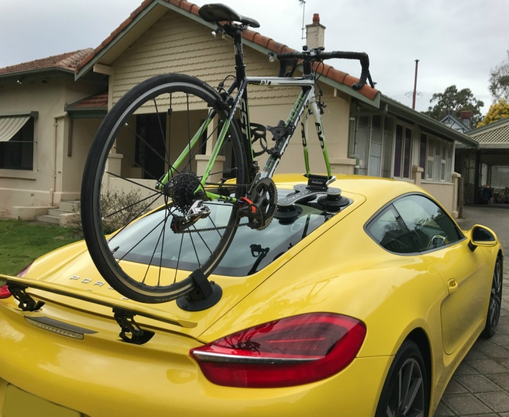 Porsche Cayman Bike Rack