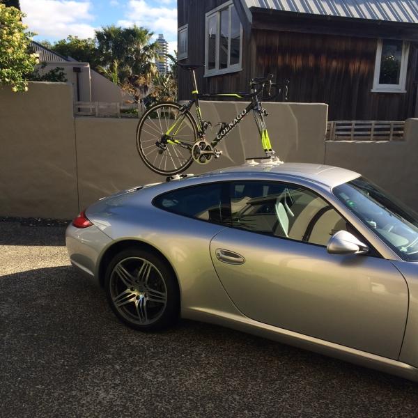 Porsche 911 Bike Rack