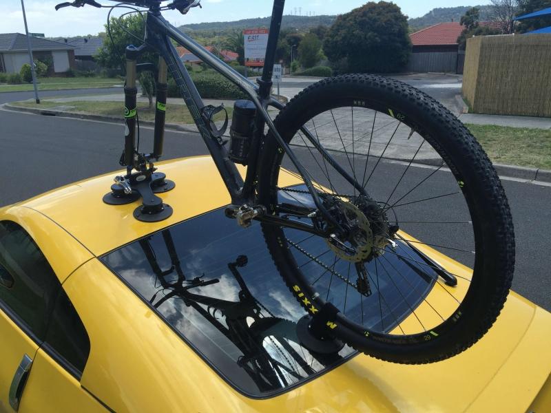 Nissan 350Z Bike Rack