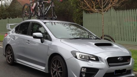 Subaru WRX STI Bike Rack – The Mini Bomber Solution