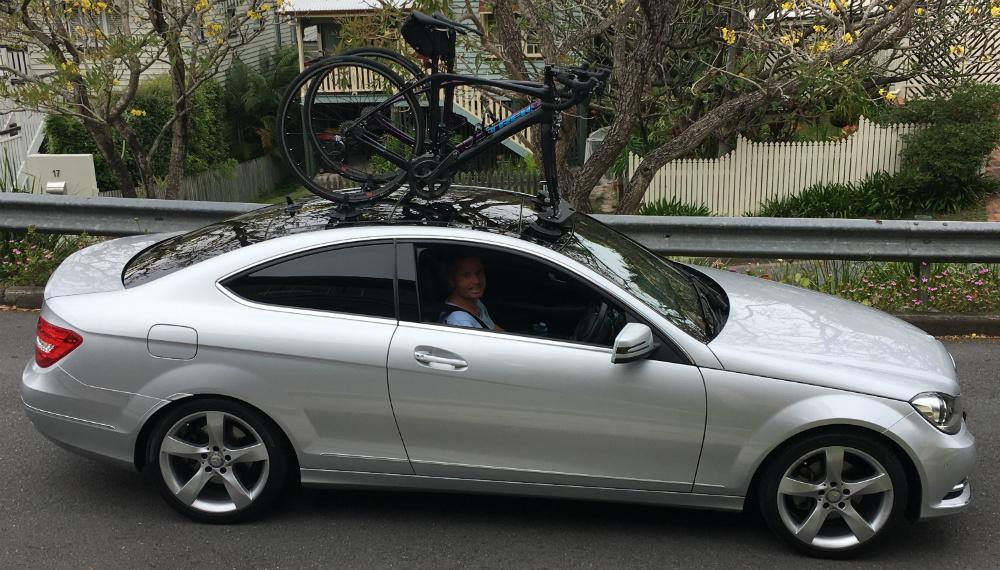 Jaguar f type bike rack seasucker down under for Mercedes benz bicycle rack
