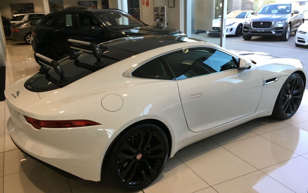 Jaguar F Type Ski Rack Seasucker Down Under