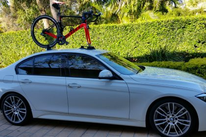 BMW 328i Bike Rack - The SeaSucker Talon