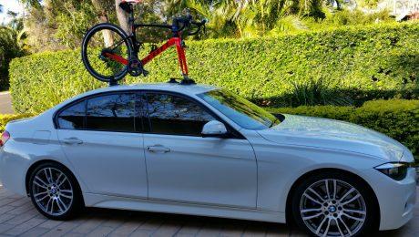 BMW 328i Bike Rack - The SeaSucker Talon