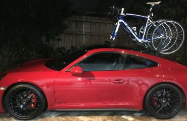 Porsche 911 GTS Bike Rack - The SeaSucker Mini Bomber