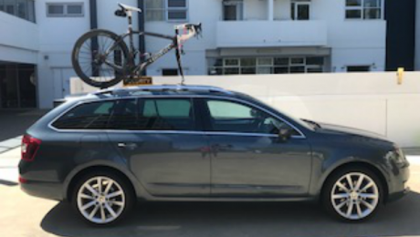 Skoda Octavia Bike Rack - The SeaSucker Talon