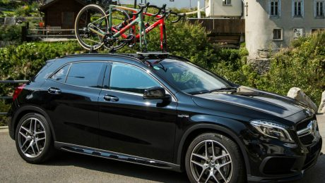 Mercedes AMG GLA45 Bike Rack - The SeaSucker Mini Bomber