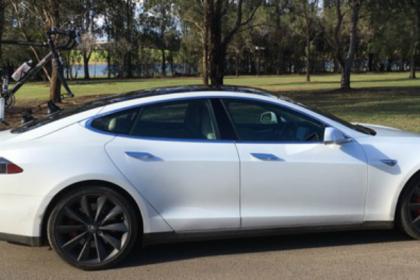 Tesla Model S Bike Rack - The SeaSucker Komodo
