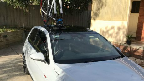 VW Golf GTI Bike Rack - The SeaSucker Talon
