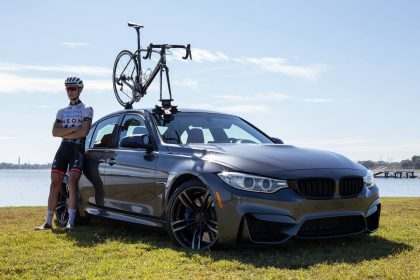 BMW M3 Sedan Bike Rack - The SeaSucker Talon