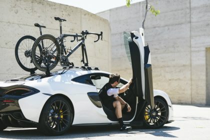 Bastion Cycles McLaren with SeaSucker Talon