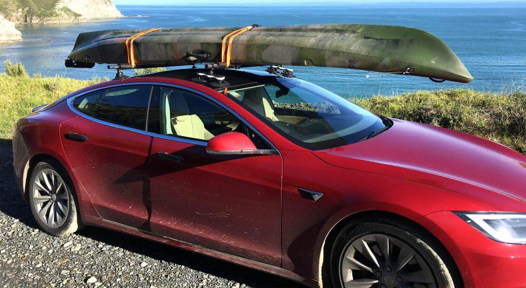 Tesla Model S Roof Rack Seasucker Down Under