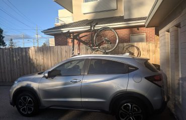 Honda HRV Bike Rack - The SeaSucker Mini Bomber