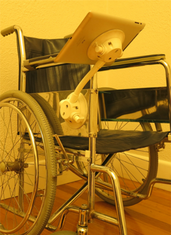 Wheelchair Tablet Mount