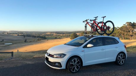 VW Golf GTi Bike Rack - The SeaSucker Mini Bomber