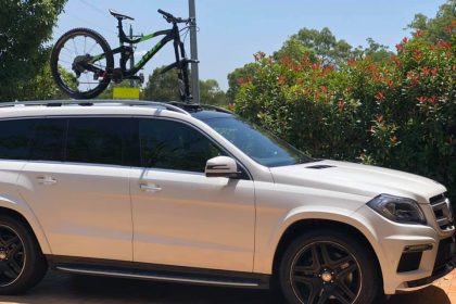 Mercedes GL350 Bike Rack - The SeaSucker Talon