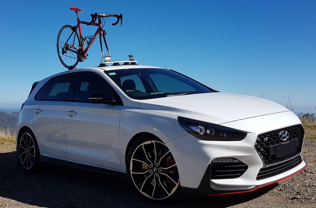 Kayak Roof Rack For Cars >> Hyundai i30 Bike Rack - SeaSucker Down Under